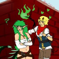 Nuri Likes Dat Green Hair by The-KingofFools