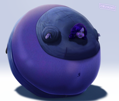 Request: Christina Hendricks Blueberry by xmasterdavid