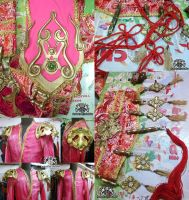 Decorate costumes - shoulder armors / hanging acce by Alzheimer13