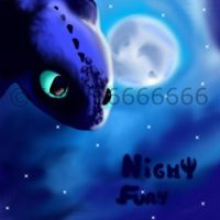 HTTYD - Night Fury by Yoshi66666666
