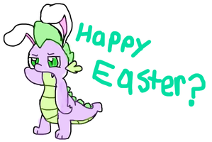 Happy Easter by flamingkitty900