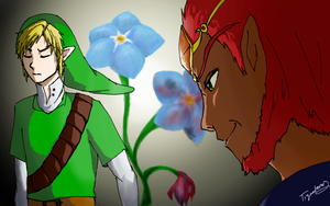 The Legend of Zelda: Forget-Me-Not by tigeatoray