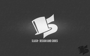Slash design and codes's logo by cioue