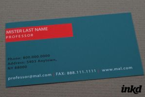 Learning Center Business Card by inkddesign