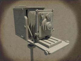 Old Camera by azyhadee