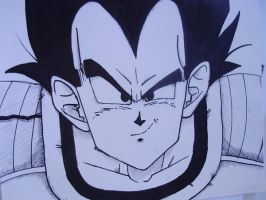 Vegeta prince of... by Lord-Sevy