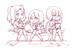 Lunch time *sketch* by Pikokko