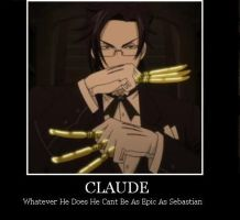 no epicness for Claude by FamishedZero