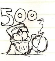 500 Pageviews by Borishehe