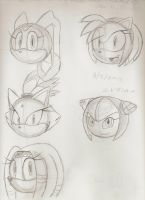 Sonic Girls by Blaze-5