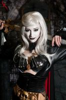 Lady Death Cosplay - Anime Expo 2014 by piratesavvy07