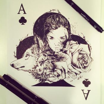 Arya by Pentasticarts by 12epitaph