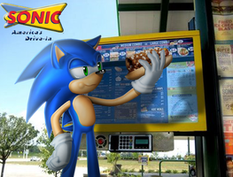 Sonic at Sonic by Lord-Kiyo