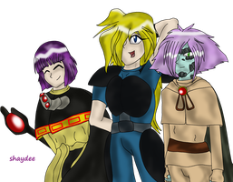 Slayers Trio by The-Real-Shaydee