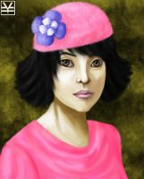 Asian in Pink by Joouheika