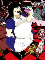 Commission Fat Alice Colour By Magicknife142 by bankgarmo