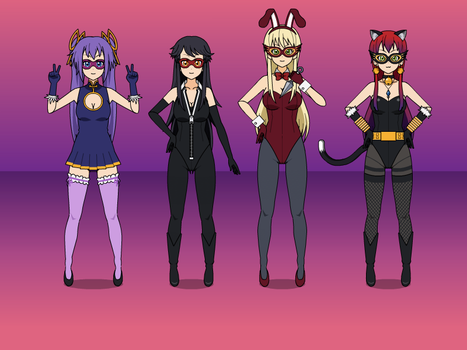 Girls of Justice by NekoLover3000