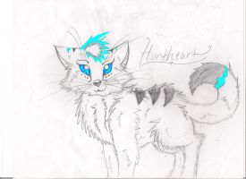 Iceheart98's Huntheart Colored by Morningwatch