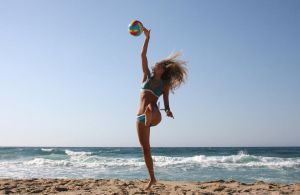 Beach Volleyball by Water-flower