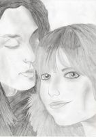 Andy Biersack and Juliet Simms by EmmyBVB