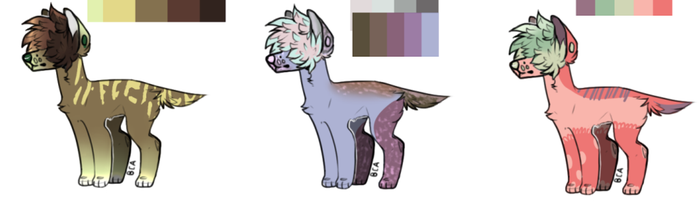 Doggo Auction (3/3 OPEN) by fluff-and-jellyadopt