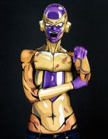 Golden Frieza Bodypaint by KayPikeFashion