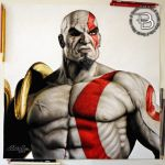 Kratos - The Ghost of Sparta by Daviddiaspr