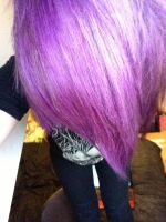 first things first.. i dyed my hair purple x3 by JubsJeevasX