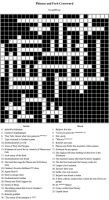 Phineas And Ferb Crossword by InvadeRose