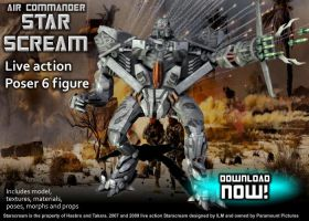 3D Movie Starscream DOWNLOAD by RazzieMbessai