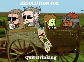 Resolution #06: Quit Drinking by Kumama