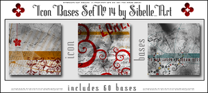 Icon bases Set No.14 by Sibelle
