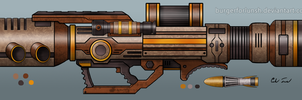 'Fireball' Rocket Launcher Ver.2 by BurgerForLunsh