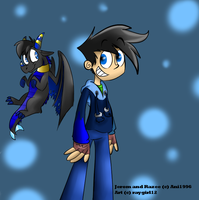 Jerom and Razee by raygirl12