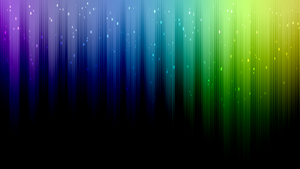 Rainbow wallpaper with tutorial link by jeffrockr
