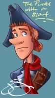 The Pirate With A Scarf by J-Spence