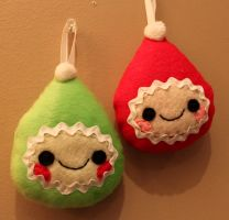 Lil Elf Ornaments by loveandasandwich