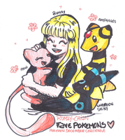 [PKMN D.C. 2016] ME AND MY FAVORITE POKEMONS - 31 by Rumay-Chian