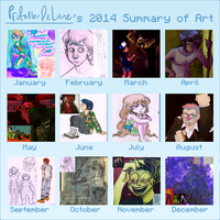 Summary Of Art 2014 by ProfessorDeLune