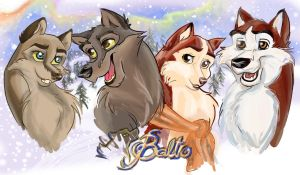 Balto's family by Catnip1996