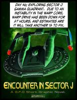 Encounter in Sector J - Splash Page by MotoTsume