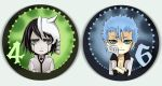 Bleach button set Espada by Radittz