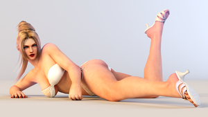 Rachel 3DS Render 4 by x2gon