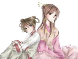 .Kai sisters by cHlanG2x