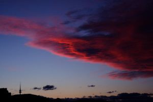Canberra Sunset by totallehmaddeh