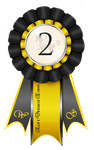 Elite Dressage Event Ribbon 2nd Place by Tigra1988