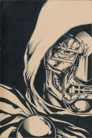 Dr Doom Inks by Trigar