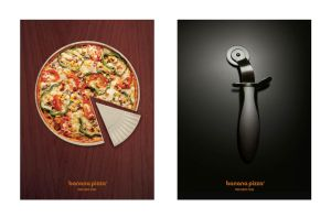 Thin crust pizza by sam4grafix