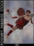 LadyBug Faerie 002 by poserfan-stock