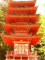 japanese tower by steverobles